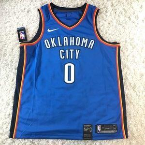 Nike OKC Thunder Russ Westbrook Jersey Sz S,L,XL